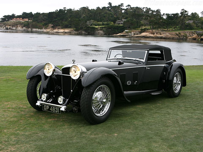 Roseluck would drive a 1931 Daimler Double Six. What would Granny Smith drive?