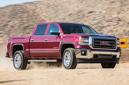 Big Mac would drive a 2014 GMC Sierra 1500 SLT. what would Angel have?