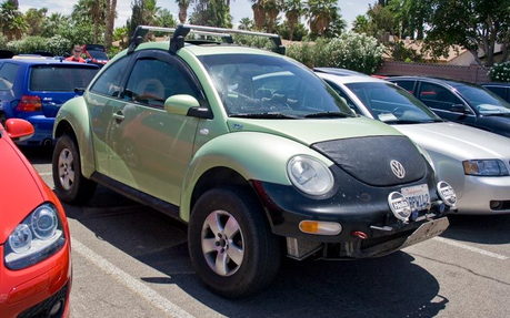 ángel would drive a 2009 Volkswagen Beetle. What would Fluttershy have?