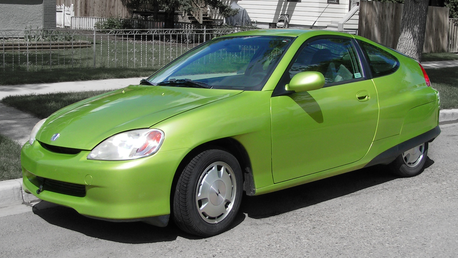 Fluttershy would drive a 2000 Honda Insight electric car. What would Twilight have?