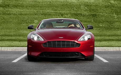 Octavia would drive a 2013 Aston Martin DB9, but don't worry. The grille has not been taken from anot