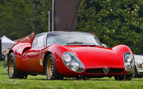 EG Pinkie Pie would drive a 1967 Alfa Romeo Tipo 33 Stradale, What would EG Rarity have?