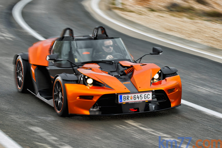 featherweight would drive a 2015 KTM X-Bow. what would Pipsqueak have?