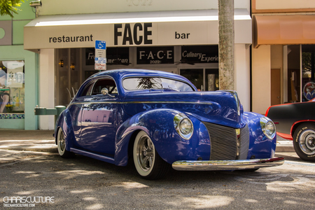 Clear Skies would drive a 1940 Mercury Club Coupe. What would Fluffy Clouds have?