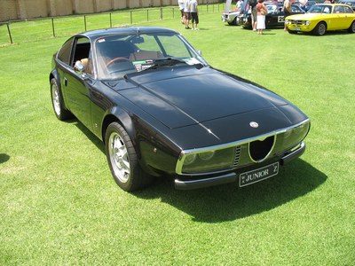 Midnight Strike would drive a 1970 Alfa Romeo Giulia GT Junior sejak Zagato. What would Bon Bon have?