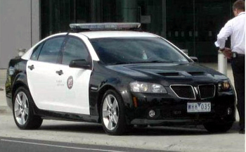 Flitter would have a Pontiac G8 Policecar. What would Fluttershy have?