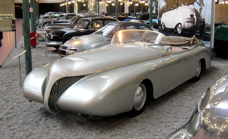 Angel would drive a 1938 Arzens Le Baleine. What would Tank have?