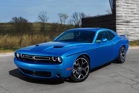 Luna would have a 2015 Dodge Challenger. What would pelangi, rainbow Dash have?