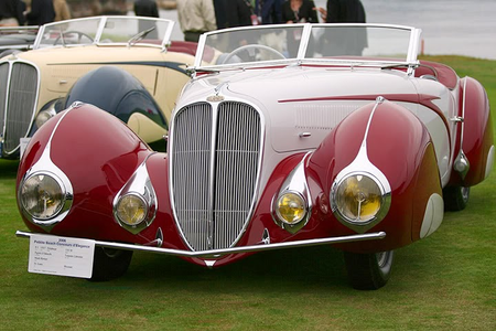Discord would drive a 1936 Delahaye 135 Figoni et Falaschi torpedo Cabriolet. What would Nightmare Mo