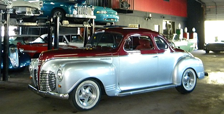 Twilight would have a 1941 Plymouth. What would Spike have?
