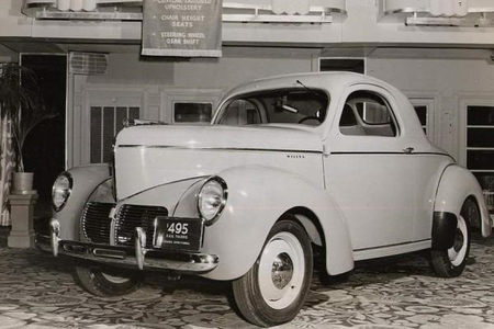 Rarity would have a 1940 Willys Americar. What would Fluttershy have?