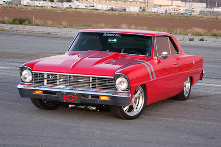 Twilight Sky would drive a 1967 Chevrolet Nova. What would pokok Hugger drive?