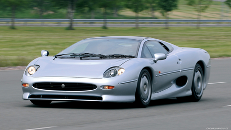 Soarin' would drive a 1989 Jaguar XJ220. What would Spitfire have?