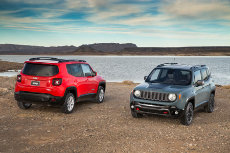 Roseluck would have a 2015 Jeep Renegade. What would Shredder have?