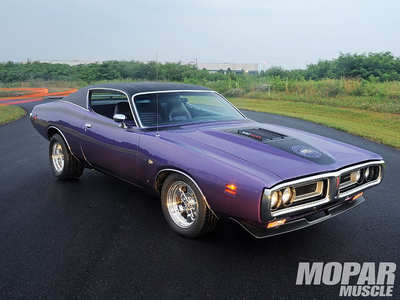 Power Play would drive a 1971 Dodge Charger Super Bee. What would Saten Twist have?