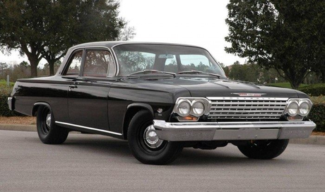 Chimney Sweep would drive a 1962 Chevrolet Biscayne. What would Thunderlane have?