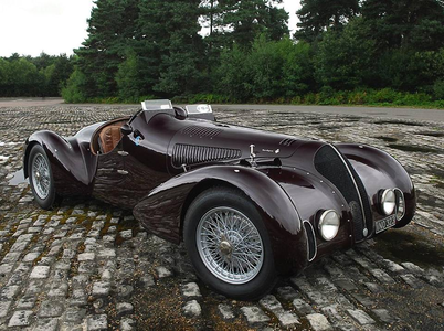 Dr. Whooves would drive a 1938 Alfa Romeo 6C 2300B Mille Miglia Spyder. what would Lily have?