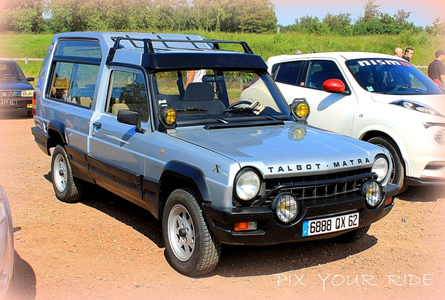 Roseluck would drive a 1981 Talbot-Matra Rancho. What would Fancy Pants have?