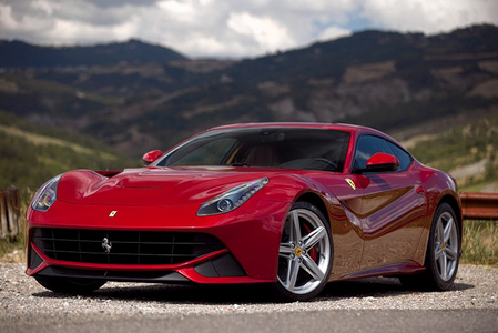Filthy Rich would drive a 2012 Ferrari F12 Berlinetta. What would Spike have?