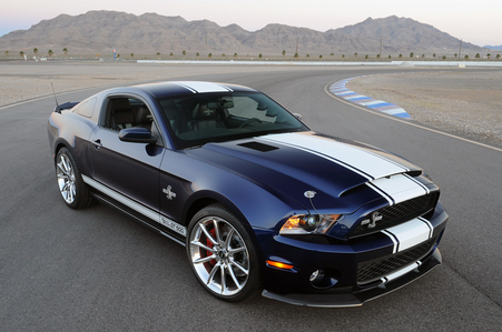 Flitter would drive a Ford mustang Shelby GT500. What would Chrysalis drive?
