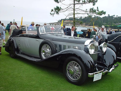 foto Finish would drive a 1933 Hispano Suiza J12 Deletrenfreres Cabriolet. What would Derpy have?