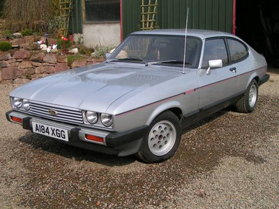 Dinky would drive a 1983 Ford Capri. What would Dr. Whooves have?