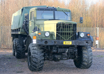 Yaks would drive 1970 KraZ 255 trucks. What would the changelings have?
