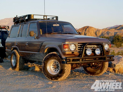 The Zebras would have 1990 Toyota Land Cruisers. What would the naga have?