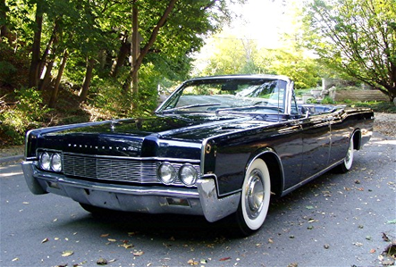 The naga would ride a 1967 lincoln continental. What would the Donkeys ride?