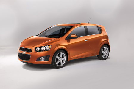 Octavia would ride a Chevrolet Sonic Hatchback. What would Spike drive?