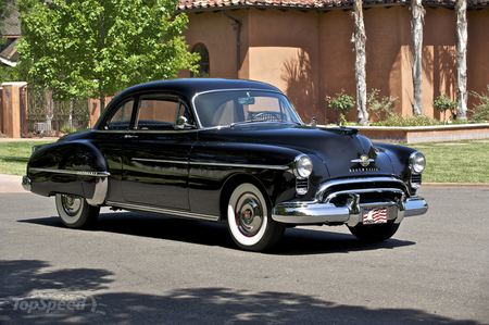 Bulk Biceps would drive a 1949 Oldsmobile Rocket 88. What would Lily Valley have?