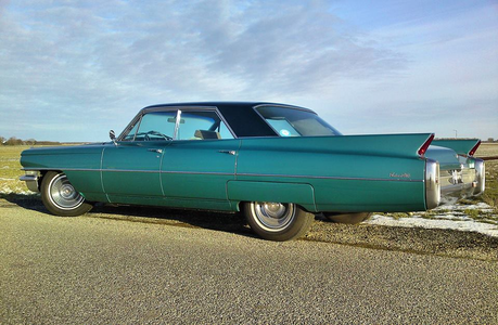Shining Armor would drive a 1963 Cadillac Sedan De Ville. What would Double Diamond have?