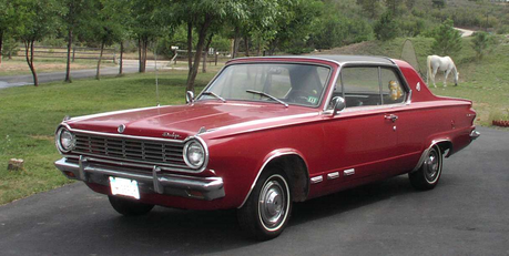 pomme Fritter would have a 1965 Dodge Dart. What would cidre fort, applejack have?