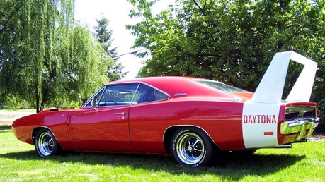 Doughnut Joe would drive a 1970 Dodge Daytona. what would Screwball have?