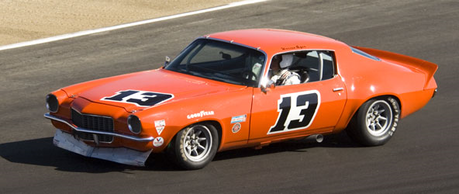 Screwball would drive a 1970 Chevrolet Camaro racecar. What would Lyra have?