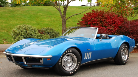 Sugar Belle would drive a 1969 Corvette Stingray. What would Discord drive?