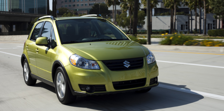 The Smooze would drive a The Suzuki SX4. What would Screwball drive?