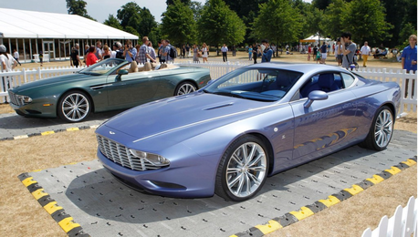 Octavia would drive a 2013 Aston Martin DBS coupé Zagato Centennial. What would Twinkle Shine have?