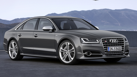 Shining Armor would drive a 2015 아우디 S8. What would Moon Dancer have?