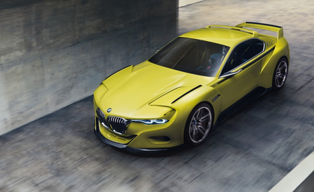 Hoity toity would drive a 2015 BMW 3.0 CSL Concept. What would Fleur De Lis have?