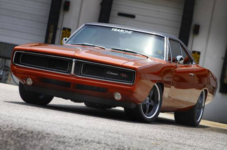 Spitfire would drive a 1970 Dodge Charger R/T. What would Lightning Dust have?