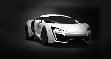Lightning Dust would drive the Lykan Hypersport. What would Soarin' drive?