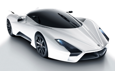 The Shadowbolts would drive a SSC Tuatara. What would the Parasprites drive?