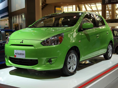 Carrot haut, retour au début would drive a 2015 Mitsubishi Mirage. What would Sugar Belle drive?