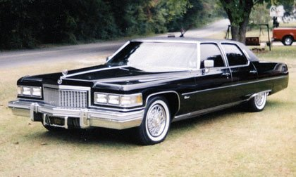 Party Favor would drive a 1975 Cadillac Fleetwood. What would citron Drops have?