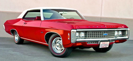 Lyra would have a 1969 Chevrolet Impala. What would Colgate have?