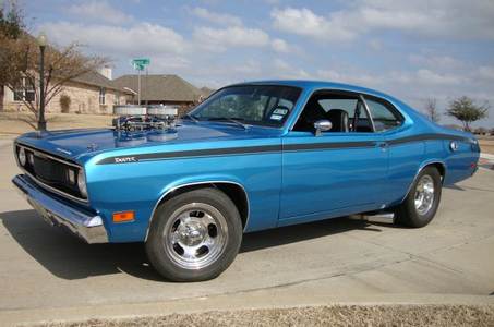 Colgate would drive a 1971 Plymouth Duster. What would Zecora have?