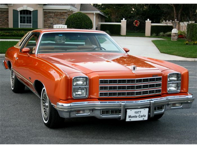 Applebloom would have a 1977 Chevrolet Monte Carlo. What would Scootaloo have?