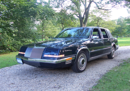 Doctor Whooves would have a 1992 Chrysler Imperial. What would Derpy have?