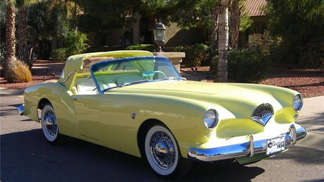 Trixie would drive a 1954 Kaiser Darrin. What would Snips have?